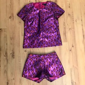 French Connection Matching Leopard Set
